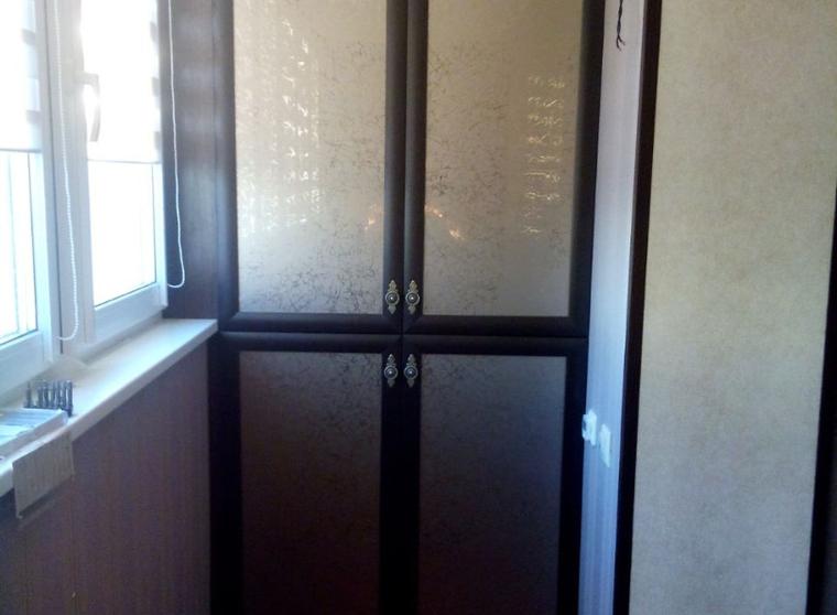 Шкаф на балкон 1 на заказ от производителя.